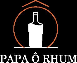 Logo Papa Ô Rhum blanc